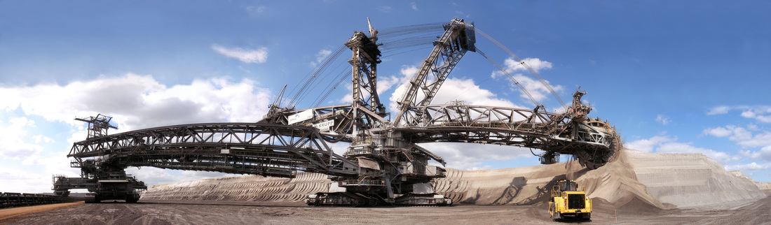 A Wikiwander through Tunnels, Mines, and Flames: A picture of the Bagger 288 Bucket Wheel Excavator.